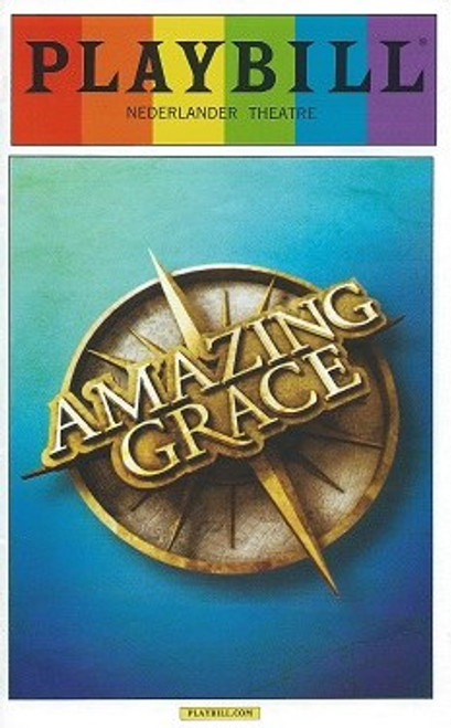 Amazing Grace - June 2015, Directed by Gabriel Barre, Josh Young - Erin Mackey Playbill Pride Cover
