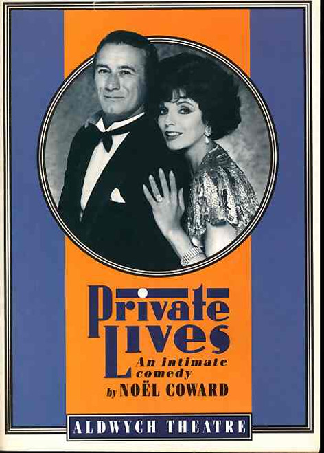 Private Lives Revival is a 1930 comedy of manners by Noël Coward. It focuses on a divorced couple who discover that they are honeymooning with their new spouses in the same hotel.