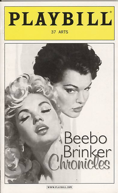The Beebo Brinker Chronicles are baseds onsix books in all, first published between 1957 and 1962, playbill, beebo playbills