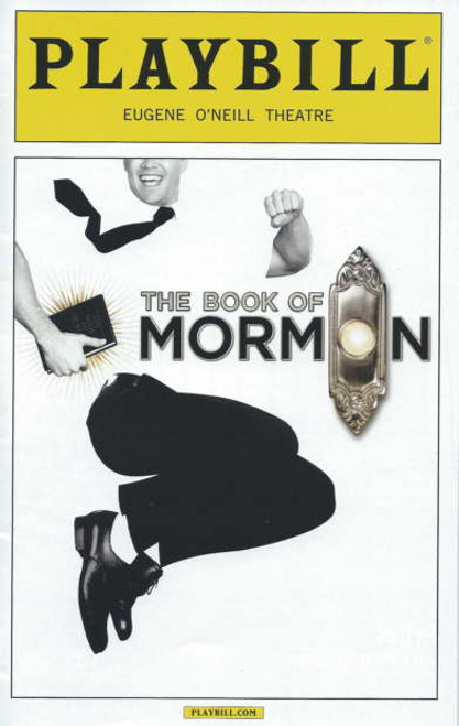 Book of Mormon Playbill Sept 2014 Eugene O'Neill Theatre, Nic Rouleau - Ben Platt - Nikki Renee Daniels, book of Mormon memorabilia, book of Mormon playbills