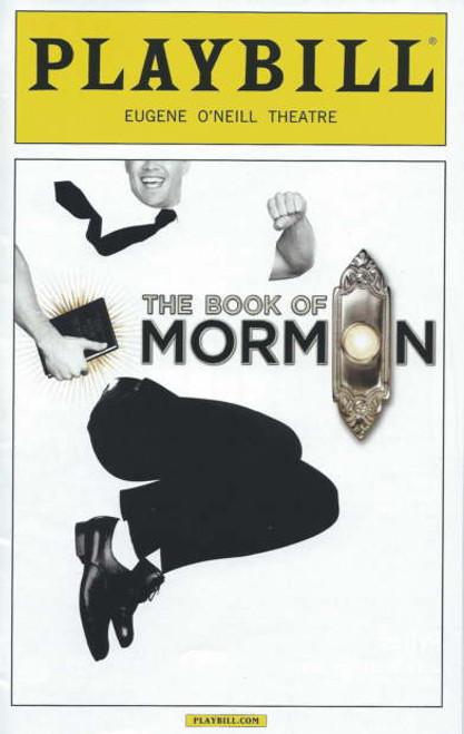 Book of Mormon Playbill Sept 2014 Eugene O'Neill Theatre, Nic Rouleau - Ben Platt - Nikki Renee Daniels, book of Mormon memorabilia, book of Mormon playbills
