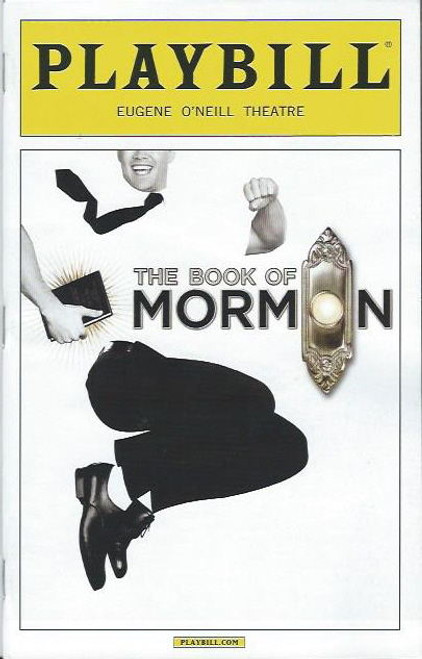 Book of Mormon (Musical) Matt Doyle, Cody Jamison Strand, Jason Michael Snow, Matt Loehr, Asmeret Gheremichael, Playbill/ Program Date Oct 2013