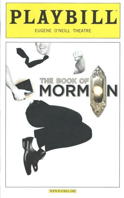 Book of Mormon The – Oct 2012 Playbill, Nic Rouleau, Will Blum, Rory O'Malley, Eugene O'Neill Theatre, book of Mormon memorabilia, playbills programs