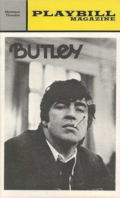 Butley (Play), Alan Bates, Hayward Morse, Barbara Lester, Holland Taylor, Roger Newman - 1973 Morosco Theatre