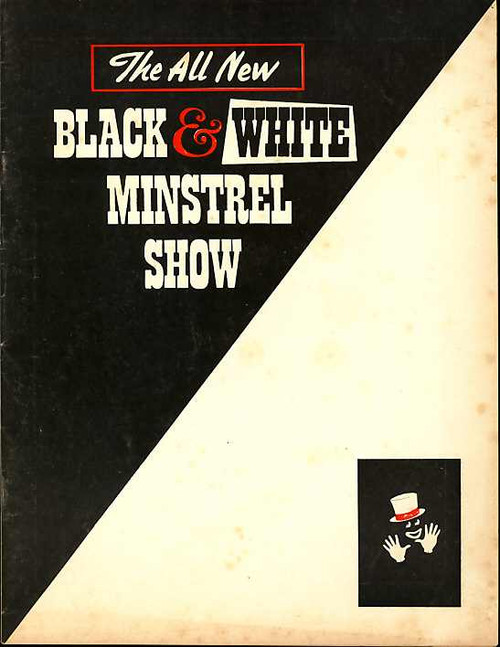 The Black and White Minstrel Show (Musical), The George Mitchell Minstrels, Don Cleaver, Howard Davies, 1968 Australian Tour, Souvenir Brochure, Show Program