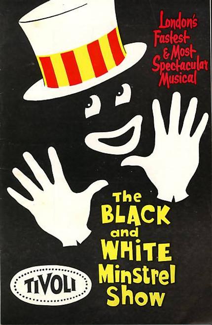 The Black and White Minstrel Show,  MusicalVariety,  Penny Nicholls, Bob Andrews, 1962 Australian Tour,  Tivoli Theatre Melbourne, The Black and White Minstrel Show program, The Black and White Minstrel Show show program