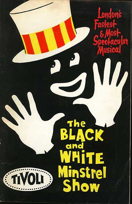 The Black and White Minstrel Show,  Musical Show, Penny Nicholls, Bob Andrews, Jeff Hudson, 1963 Australian Tour,  Tivoli Theatre Sydney, The Black and White Minstrel Show program, The Black and White Minstrel Show memorabilia