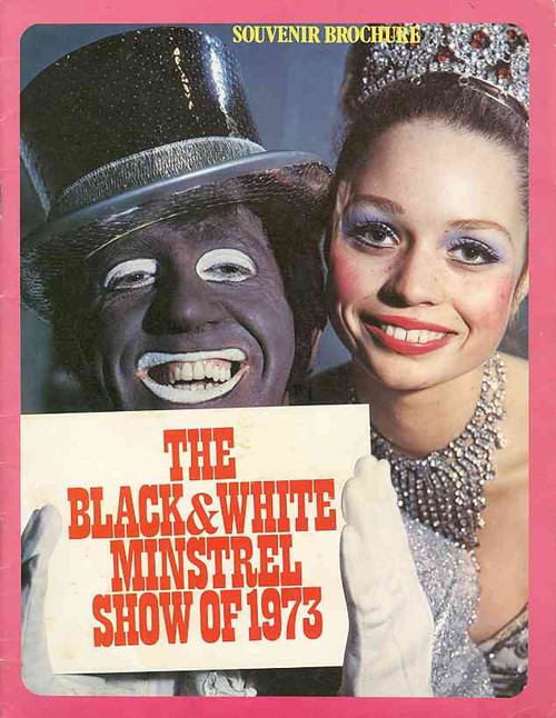 Black and White Minstrel Show,  Variety Show , George Mitchell, Roy Gunson, Ernest Maxin,  Australasian Tour 1973, Black and White Minstrel Show program, Black and White Minstrel Show memorabilia