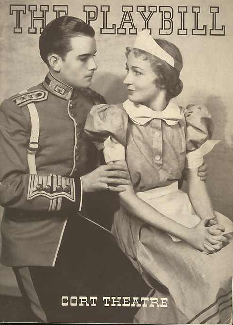 Boy Meets Girl (Play), Allyn Joslyn, Charles McClelland, Jerome Cowan - 1935 Season Cort Theatre Broadway NYC