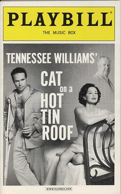 Cat on a Hot Tin Roof - 2003 Broadway, Tennessee Williams, Playbill Nov 2003,Ned Beatty, Ashley Judd, Jason Patric, Amy Hohn, Margo Martindale