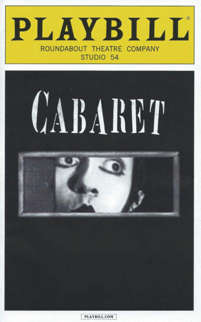 Cabaret (Sept 2014), Alan Cummings – Michelle Williams, Cabaret is a musical with a book by Joe Masteroff, music by John Kander and lyrics by Fred Ebb