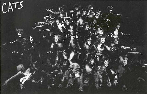 Cats (Musical), 1997, Lindsey Danvers, Jo Bingham, Margie Connell, Helen Baker, James Barron,  New London Theatre UK, cats playbill, cats program