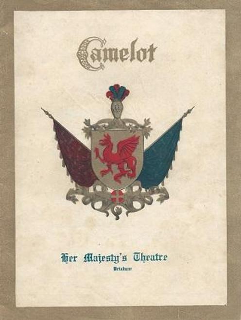 Camelot,  Her Majesty's Theatre Brisbane Australia, Starring Michael Murray, Susan Swinford, Robert McPhee, Ron Parry, Jon Ewing, Bettina Welch, Donald Crosby