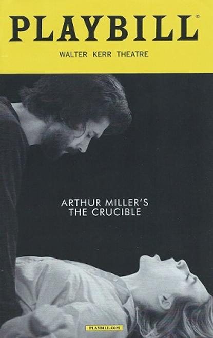 The Crucible by Arthur Miller, PlaybillMarch 2016 (Style 2), Ben Whishaw, Sophie Okonedo, Ciaran Hinds, Saoirse Ronan, Walter Kerr Theatre