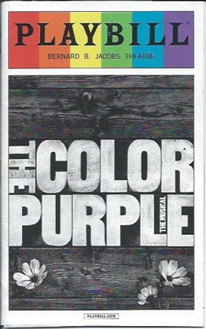 The Color Purple (PrideJune 2016), Music and Lyrics by Brenda Russell, Allee Willis and Stephen Bray, Heather HeadleyCynthia Erivo, Danielle Brooks, Isaiah Johnson, Kyle Scatliffe, Joaquina Kalukango