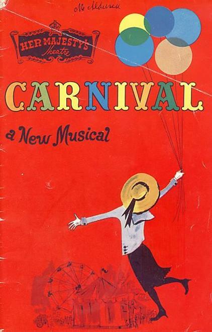 Carnival (Musical) Jill Perryman, Kevin Colson, Patricia Moore - Her Majesty's Theatre Melboune Australia