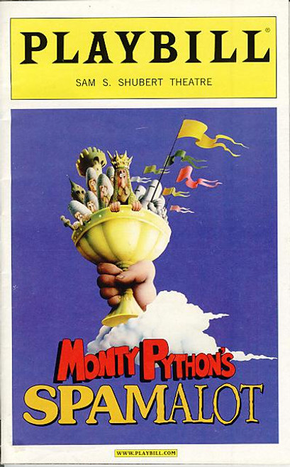 """Monty Python's Spamalot  is a musical comedy """"lovingly ripped off from"""" the 1975 film Monty Python and the Holy Grail. Like the film, it is a highly irreverent parody of the Arthurian Legend"""