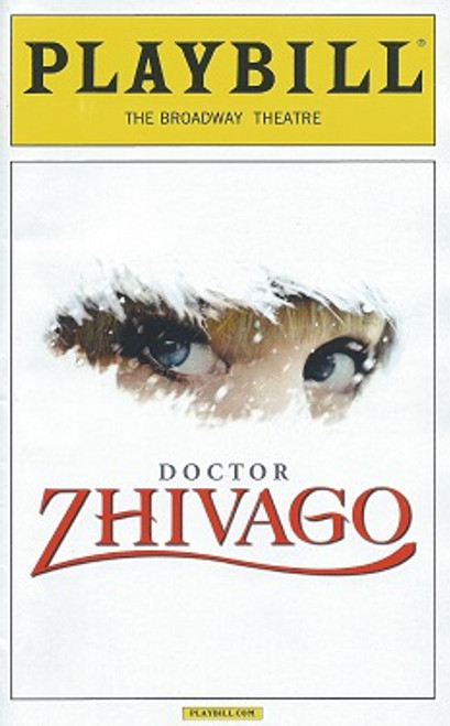 Doctor Zhivago (Musical), Playbill May 2015, Kelli Barrett, Lora Lee Gayer, Tom Hewitt, Tam Mutu,Paul Alexander Nolan, Jacqueline Antaramian, Sophia Gennusa,Jonah Halperin