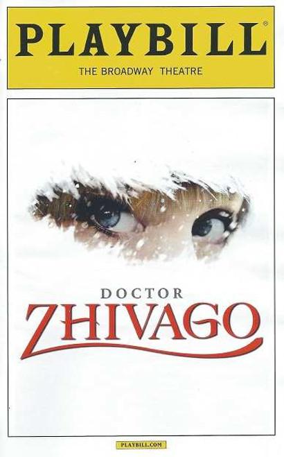 Doctor Zhivago (Musical), Playbill April 2015, Kelli Barrett, Lora Lee Gayer, Tom Hewitt, Tam Mutu,Paul Alexander Nolan, Jacqueline Antaramian, Sophia Gennusa,Jonah Halperin