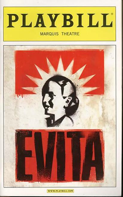Evita (Musical), Ricky Martin, Elena Roger, Max Von Essen, Michael Cerveris - 2012 Broadway Revival Marquis Theatre Broadway