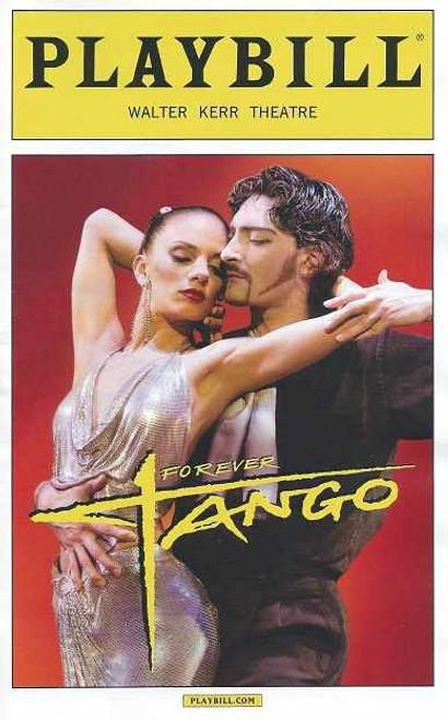 Forever Tango, by Luis Bravo, Maksim Chmerkovskiy, Forever Tango playbill, broadway 2013