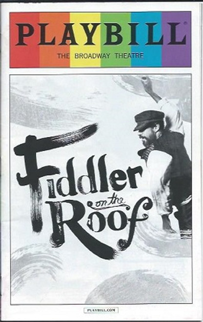 Fiddler on the Roof, Broadway Revival, Playbill June 2016 Pride Edition,   Broadway Theatre Danny Burstein, Jessica Hecht, Adam Kantor