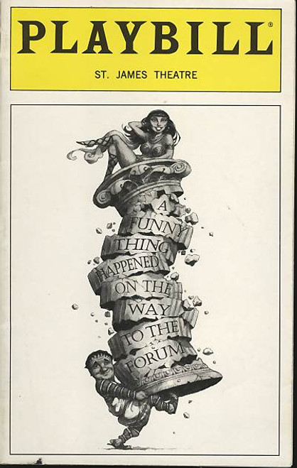 A Funny Thing Happened on the way to the Forum (Musical), Nathan Lane, Mary Testa, William Duell 1997 Broadway Revival