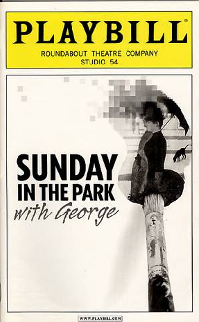 "Sunday in the Park with George  is a 1984 musical with music and lyrics by Stephen Sondheim and book by James Lapine. The musical was inspired by the painting ""A Sunday Afternoon on the Island of La Grande Jatte"" by Georges Seurat"