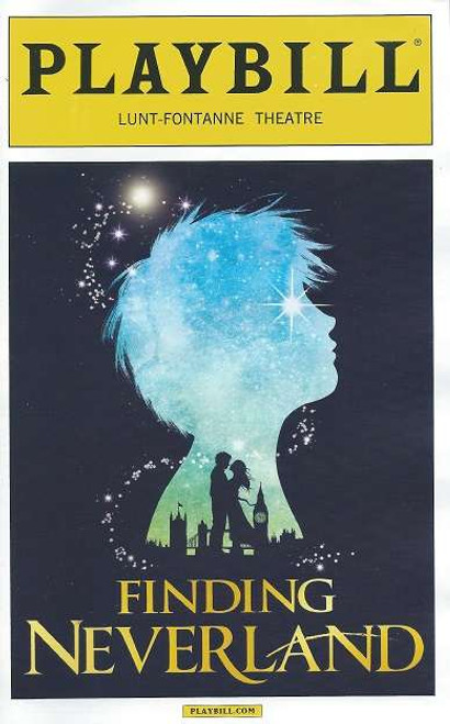 Finding Neverland, Playbill April 2015 Lunt-Fontanne Theatre, Matthew Morrison, Kelsey Grammer, Laura Michelle Kelly, Carolee Carmello, Teal Wicks, Alex Dreier, Aidan Gemme, Jackson Demott Hill, Noah Hunsdale, Sawyer Nunes, Christopher Paul Richards, Hayden Signoretti