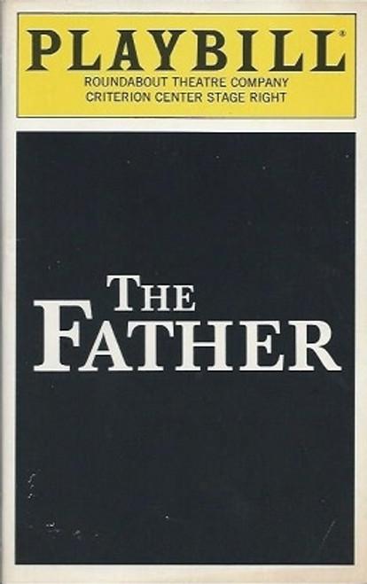 The Father, PlaybillDec 1995, Frank Langella, Tom Beckett, Angela Bettis, Ivar Brogger, Irene Dailey, Garret Dillahunt, William Verderber
