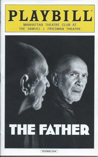 The Father (Play), by Florian Zeller Apr 2016 Frank Langella, Kathryn Erbe, Brian Avers, Samuel J Friedman Theatre