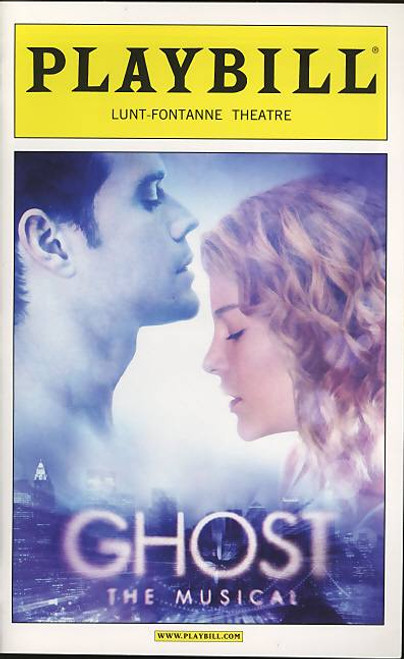 Ghost the Musical (Musical),  Richard Fleeshman, Caissie Levy, Da'Vine - Opening Night 23th April 2012 Broadway Production, Ghost Playbill