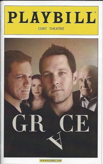 Grace - Cort Theatre Broadway, by Craig Wright, Paul Rudd, Michael Shannon, Kate Arrington, Ed Asner, Grace Playbill, Grace Broadway