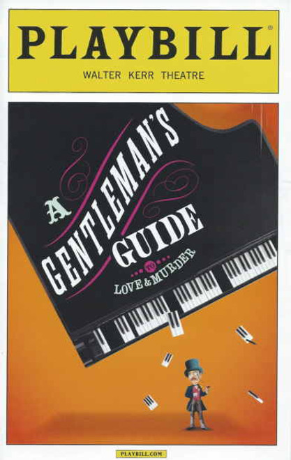 A Gentleman's Guide to Love and Murder Opening Night 17, Nov 2013 Jefferson Mays, Bryce Pinkham, Lisa O'Hare, Lauren Worsham, Pamela Bob