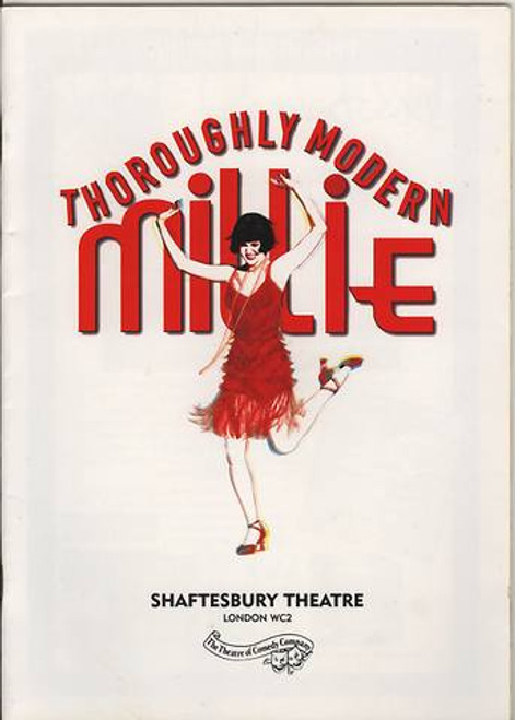 Thoroughly Modern Millie is a musical with music by Jeanine Tesori, lyrics by Dick Scanlan, and a book by Richard Morris and Scanlan. Based on the 1967 film of the same name