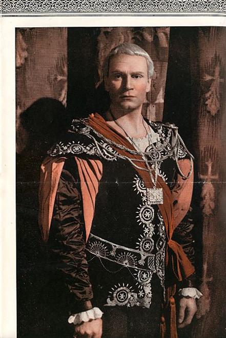 Hamlet (Play), Laurence Olivier, Eileen Herlie, Basil Sydney, Norman Woodland - Athenaeum Theatre Melbourne Australia