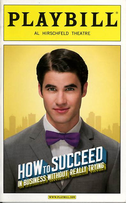 How to Succeed in Bussiness without Really Trying (Musical), Darren Criss, Beau Bridges, Rose Hemingway - January 2012