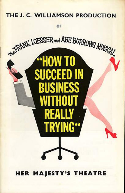 How to Succeed in Business without Really Trying (Musical), Len Gochman, Edwin Steffe, Jay Gerber - 1964 Australian Tour Sydney
