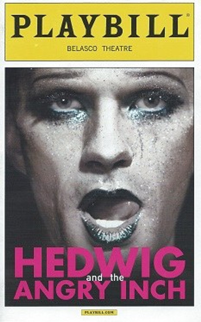 Hedwig and the Angry Inch Playbill May2014, Neil Patrick Harris, Lena Hall, Belasco Theatre NYC, Hedwig Playbill, Hedwig Program
