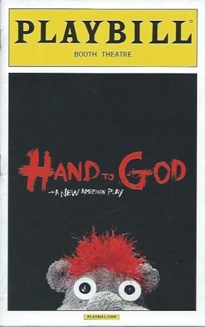 Hand to God by Robert Askins, Steven Boyd, Geneva Carr, Marc Kudlisch, Michael Oberholtzer, Sarah Stiles, Beau Baxter, Pamela Bob, Alex Mandell