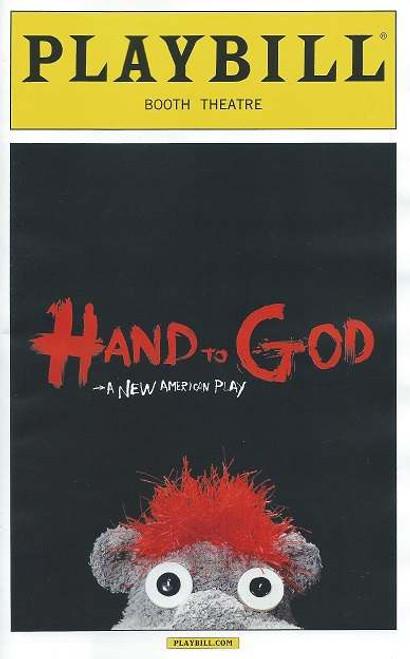 Hand to God by Robert Askins Booth Theatre, Steven Boyer, Genava Carr, Marc Kudisch, Michael Oberholtzer, Sarah Stiles, Beau Baxter, Pamela Bob, Alex Mandell