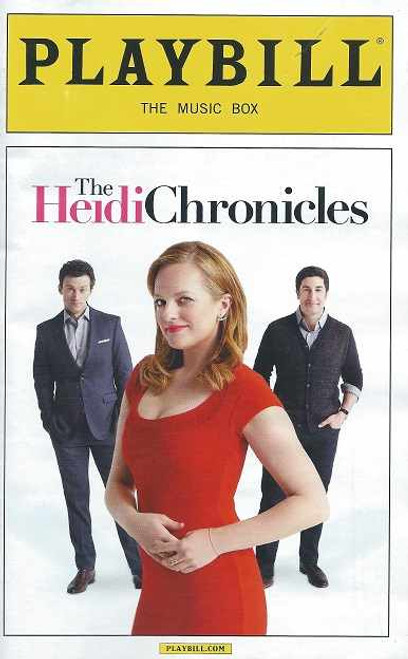 The Heidi Chronicles (Play), by Wendy Wasserstein, Elisabeth Moss, Jason Biggs, Bryce Pinkham, Tracee Chimo, Ali Ahn, Leighton Bryan, Elise Kibler, Andy Truschinski, Ben Graney, Amelia McClain, Therese Plachn