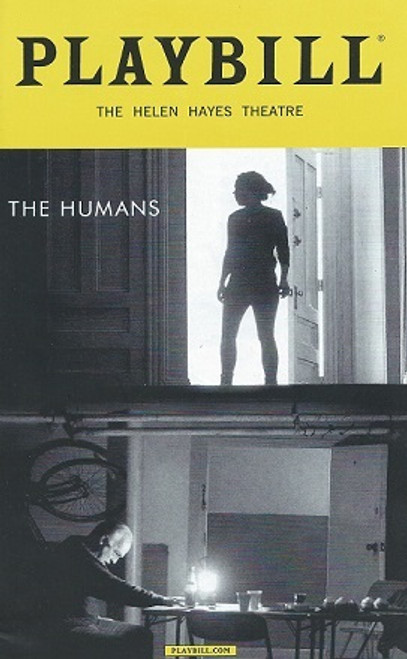 The Humans, by Stephen Karam, Playbill March 2016 Broadway, Cassie Beck, Reed Birney, Jayne Houdyshell, Lauren Klein, Arian Moayed, Sarah Steele