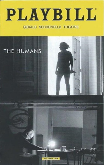 The Humans, by Stephen Karam, PlaybillSept 2016 Broadway, Cassie Beck, Reed Birney, Jayne Houdyshell, Lauren Klein, Arian Moayed, Sarah Steele