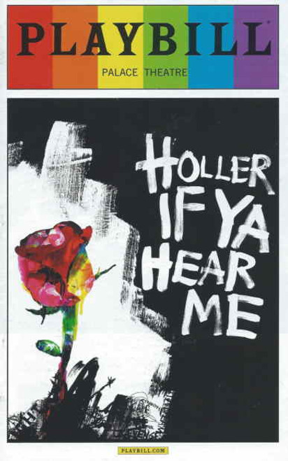 Holler If Ya Hear Me June 2014 Pride Edition, Saul Williams, Christopher Jackson, Saycon Sengbloh, Ben Thompson