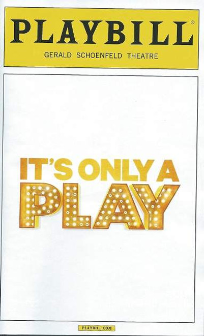 It's Only a Play (Play) by Terrence McNally, Playbill Sept 2014 OBC, F. Murray Abraham, Matthew Broderick, Stockard Channing, Rupert Grint, Nathan Lane, Megan Mullally, Micah Stock, Ben Hollandsworth, Isabel Keating, Bob Stillman