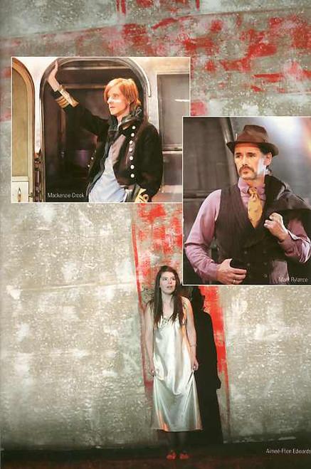Jerusalem (Play), Mark Rylance, Aimee-FFion Edwards, Sarah Moyle - From the Return Season at the Apollo Theatre London, Jerusalem  playbill, Jerusalem  program