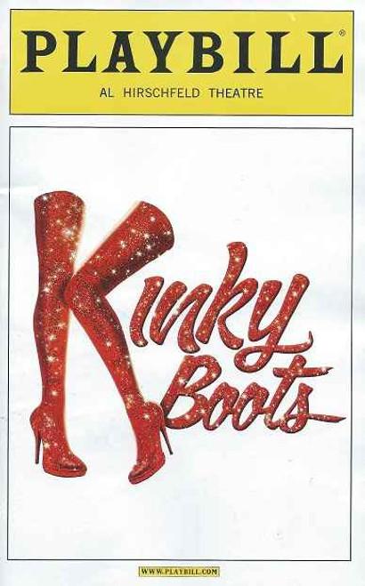 Kinky Boots, Playbill (May 2013) Stark Sands,Billy Porter,Annaleigh Ashford,Celina Carvajal, Daniel Stewart Sherman, Marcus Neville
