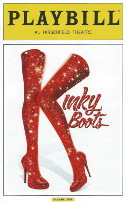 Kinky Boots Playbill (Oct 2014), Billy Porter, Andy Kelso, Jeanna de Waal, Daniel Stewart, Cortney Wolfson, Marcus Neville