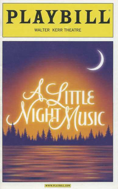 A Little Night Music Playbill Dec 2010, Bernadette Peters, Elaine Stritch, Stephen R Buntrock, Bradley Dean, Erin Davie, Leigh Ann Larkin, Hunter Ryan Herdlicka, Ramona Mallory